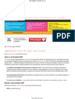 El Formato PDF_X