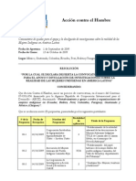 Comunicación Resultados Convocatoria Trabajos de Investigación Convenio AECID 07CO1056