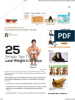 25 Simple Tips to Lose Weight in 10 Days _ StyleCraze