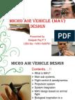 Micro Air Vehicle Design-1vw11map01
