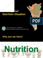 The Regional Nutrition Situation - NCR, Philippines