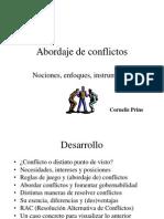 6 Abordaje de Conflictos