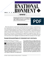 Emerging Environmental Regimes for Contaminated Lands in Latin America (M Kadas) (BNA Inc)