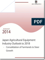 Japan agricultural equipment industry outlook to 2018 - Market Research Report