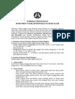 Format Penulisan Naskah Ringkas (Artikel Jurnal) Dan Makalah