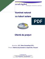 Oferta Tuburi Solare Fabrica Ciuperci