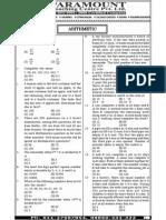Ssc Mains (Maths) Mock Test-7