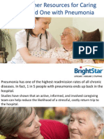 CareTogether Resources for Caring for a Loved One with Pneumonia