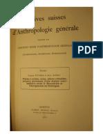 Donici_Pittard_Piece a Coches, Scies, Crenelees,Percoirs Provenant d'Une Station Intermediaire Entre Le Mousterien Et l'Aurignacien en Dordogne_1929