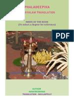 Index of the book Phaladeepika
