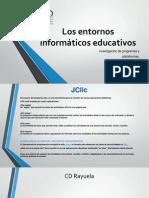 Los Entornos Informáticos Educativos. Segunda Parte.