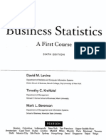 Business Statistics a First Course - 6ed Index