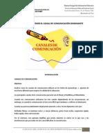 Test Para Obtener El Canal de Comunicacion Dominante