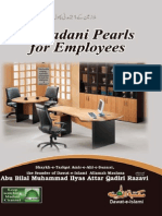 21 Madani Pearls for the Employees