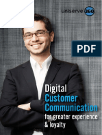 Digital Customer Communication for Greater Experience and Loyalty