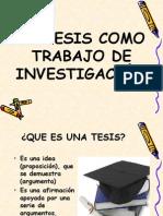 La Tesis - Investigacion