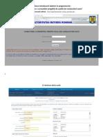 Ordinea Introducerii Datelor În Programul De