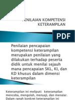 Penilaian keterampilan SMK