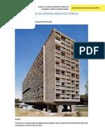 Análisis de Espacio Arquitectónico Le Corbusier