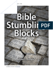 Bible Stumbling Blocks by Jesse C. Jones