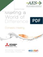 Domestic Heating Main Brochure SAP 210486