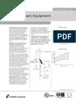 4021-6 Rimseal Foam Equipment