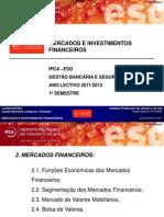 MIF 2 Mercados Financeiros