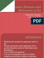 Mudras (Gestures) in Art