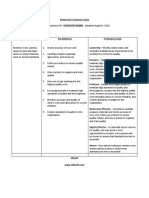 Behavioral Competency Data Table Format 9 Concern for Quality1