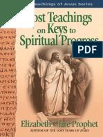 Lost Teachings of Jesus 3 Keys to Spiritual Progress Sample