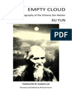 Master Xu Yun Empty Cloud the Autobiography of the Chinese Zen Master[1]