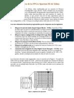 Arquitectura de la FPGA Spartan_III de Xilinx