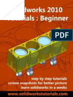 Solidworks 2010 Tutorials Beginner