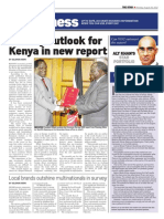 Gloomy Outlook for Kenya in New Report