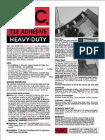 ABC Tile Adhesive Heavy Duty