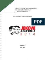 Jokowi JK Vision, Mission & Program