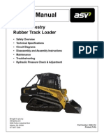 ASV PT100 Forestry Service Manual
