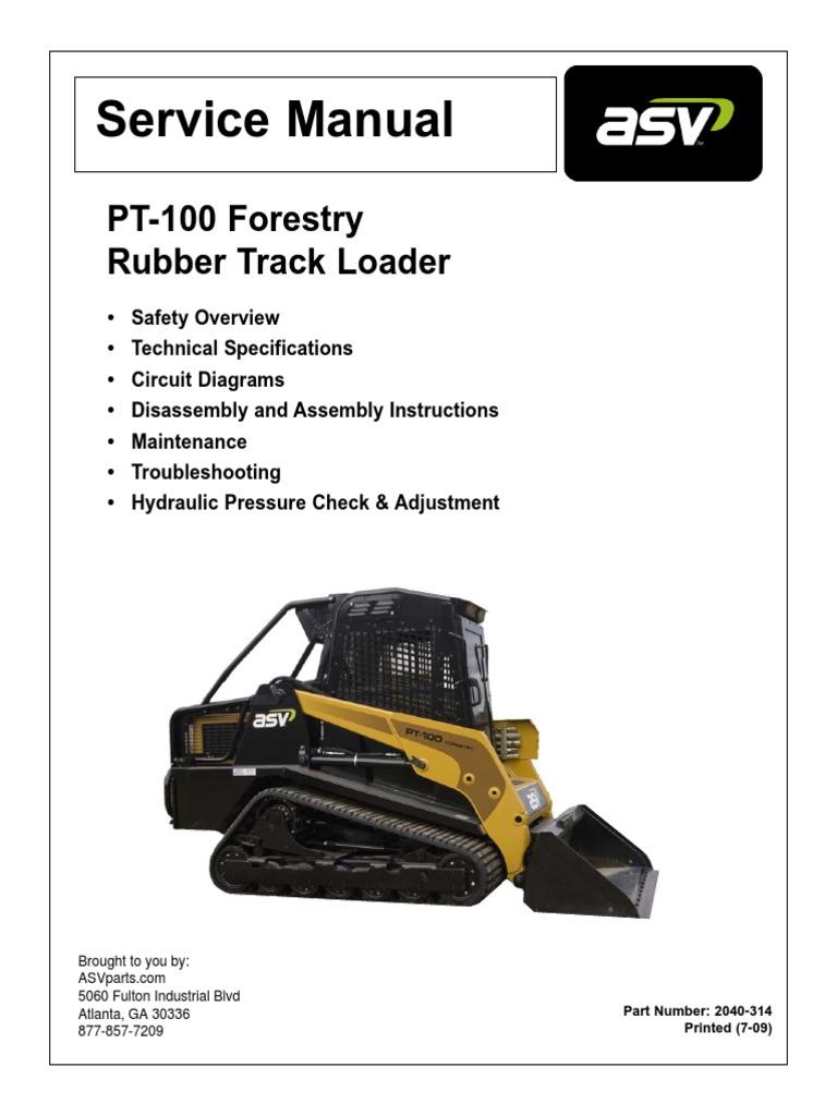 asv pt100 forestry service manual loader equipment elevator rh scribd com 93 Blaster 250 Wiring Diagram Yamaha Rhino Ignition Wiring Diagram