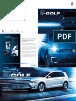 e-Golf Vii Brochure