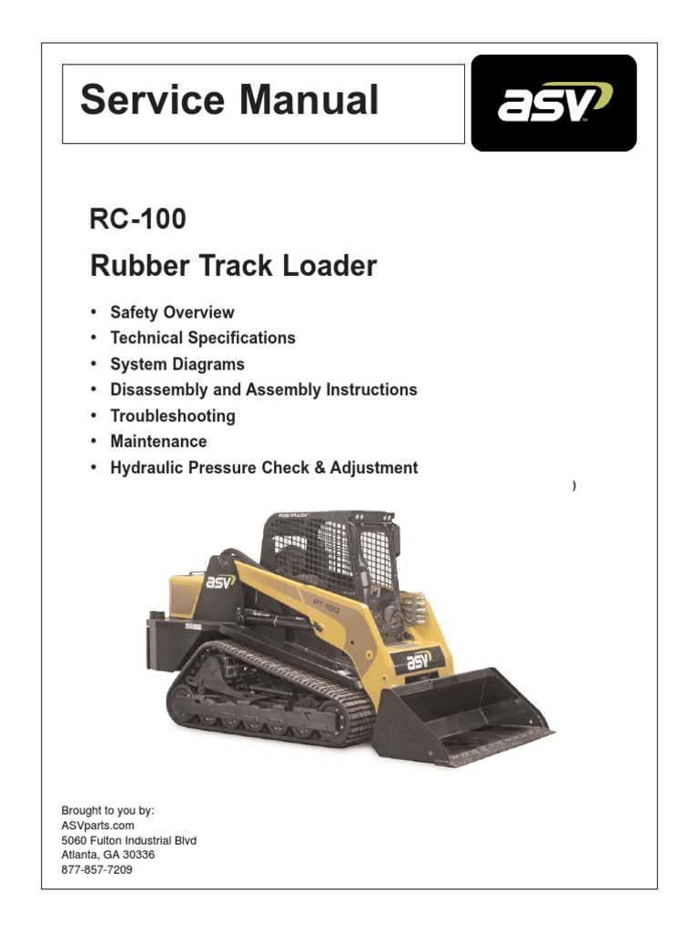 asv rc100 service manual asbestos dust rh es scribd com