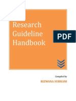Research Methodology Handbook