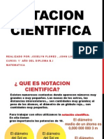 NOTACION  CIENTIFICA(1)