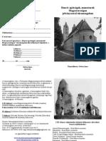 Bencés Apátságok Magyarországon igazoló füzet