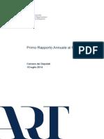 ART - rapporto annuale 2014