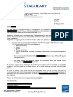 CPS Request for Comms