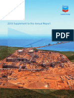 Chevron 2013 Annual Report Supplement