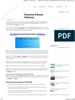 Steps to Create Password Reset Disk or USB in Windows ~ Tricks Love