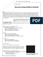 DevX_ Location-Based Services Using CellID in Android