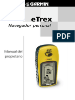 Manual de Gps ETrex