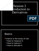 Introduction or basic or fundamentals of  Derivatives